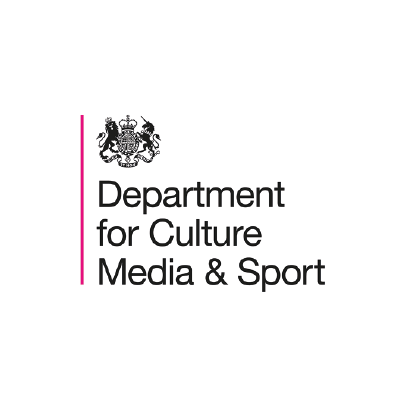 department for culture media and sport logo
